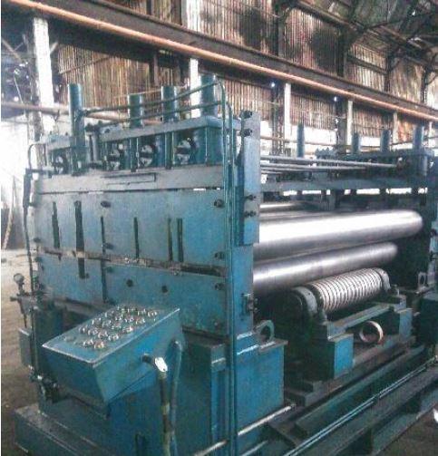 "96"" (2400mm) x .750"" (19mm) x 70,000# Cauffiel Cut-to-Length Line"