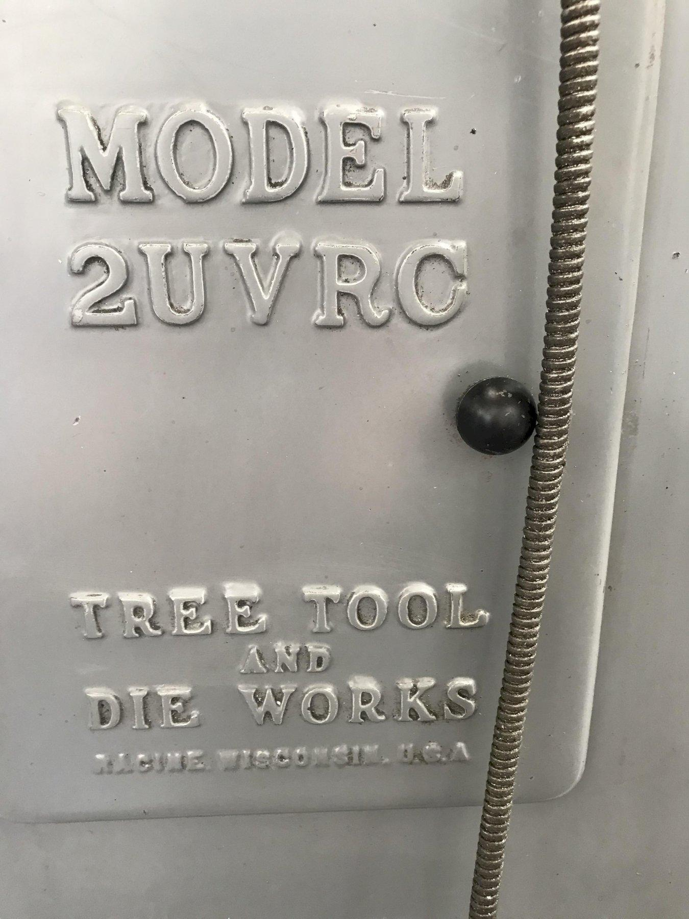 Tree 2UVRC Vertical Milling Machine