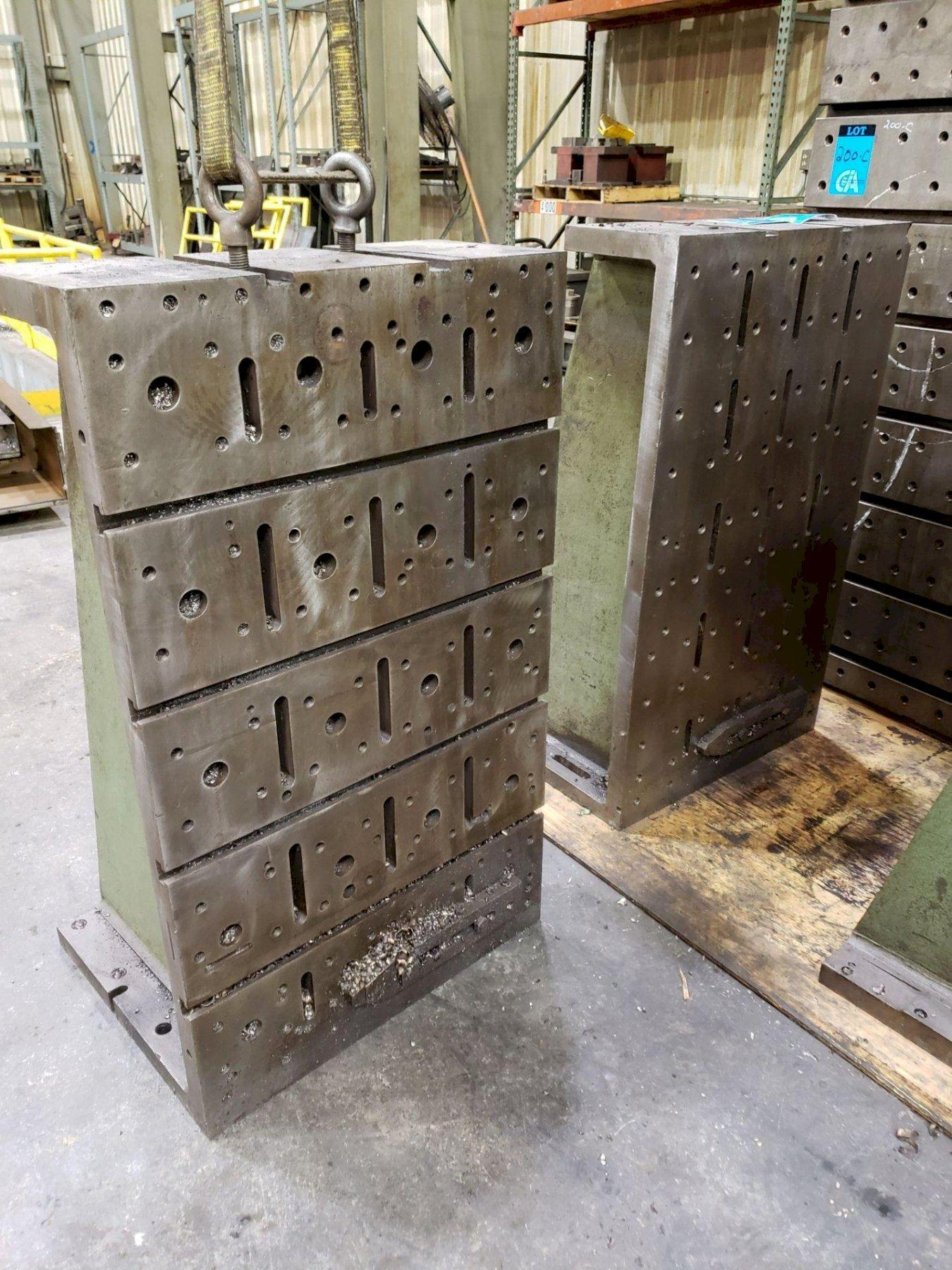 """50"""" T X 30"""" W X 11"""" D ANGLE PLATE. STOCK # 0311221"""