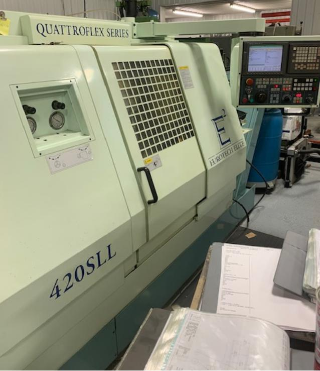 EUROTECH ELITE 420SLL TWIN-TURRET TWIN-SPINDLE CNC TURNING CENTER