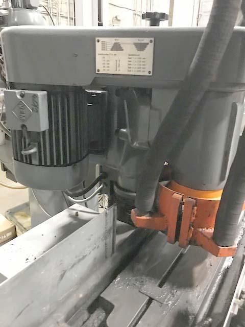"""8"""" X 20"""" GMN VERTICAL SPINDLE RECIPROCATING SURFACE GRINDER, Model MPS3, 9"""" x 20"""" Grinding Capacity, Vertical Spindle, Automatic Reciprocation, Incremental Power Downfeed, Hydraulic Clamping, New 1969."""
