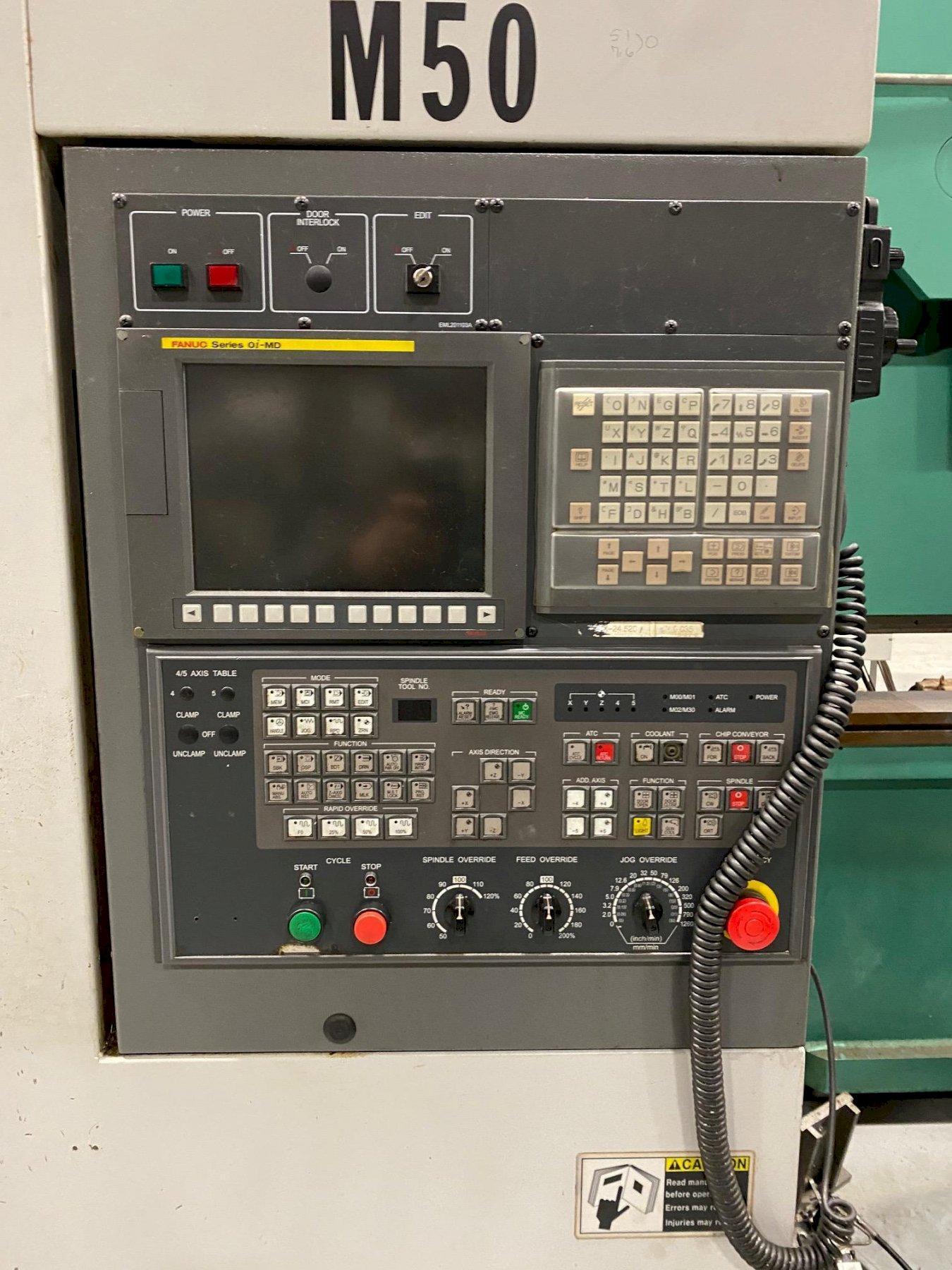 Samsung MCV50 CNC Vertical Machining Center (2012)