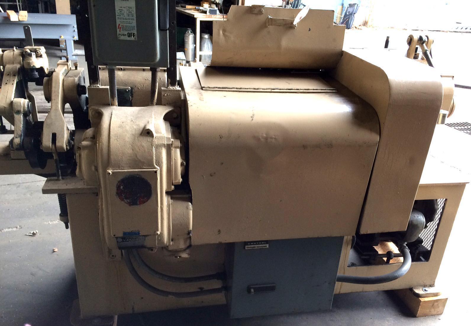 "3/8"" Shuster 2ABV Straighten And Cut Machine"