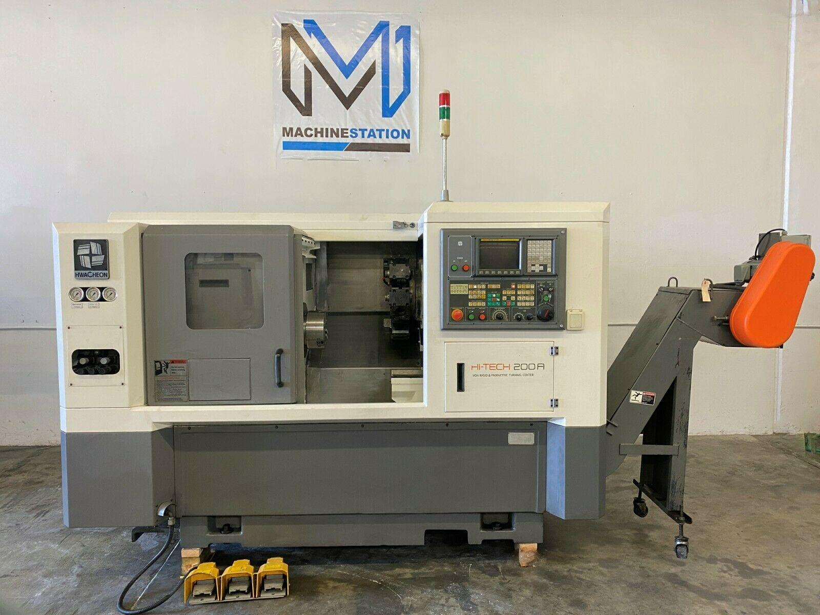 HWACHEON HI-TECH 200A CNC TURN MILL