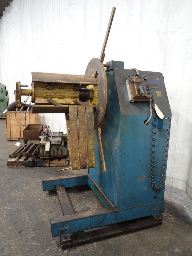 Coe Press Coil Reel Motorized 6,000 lb Capacity