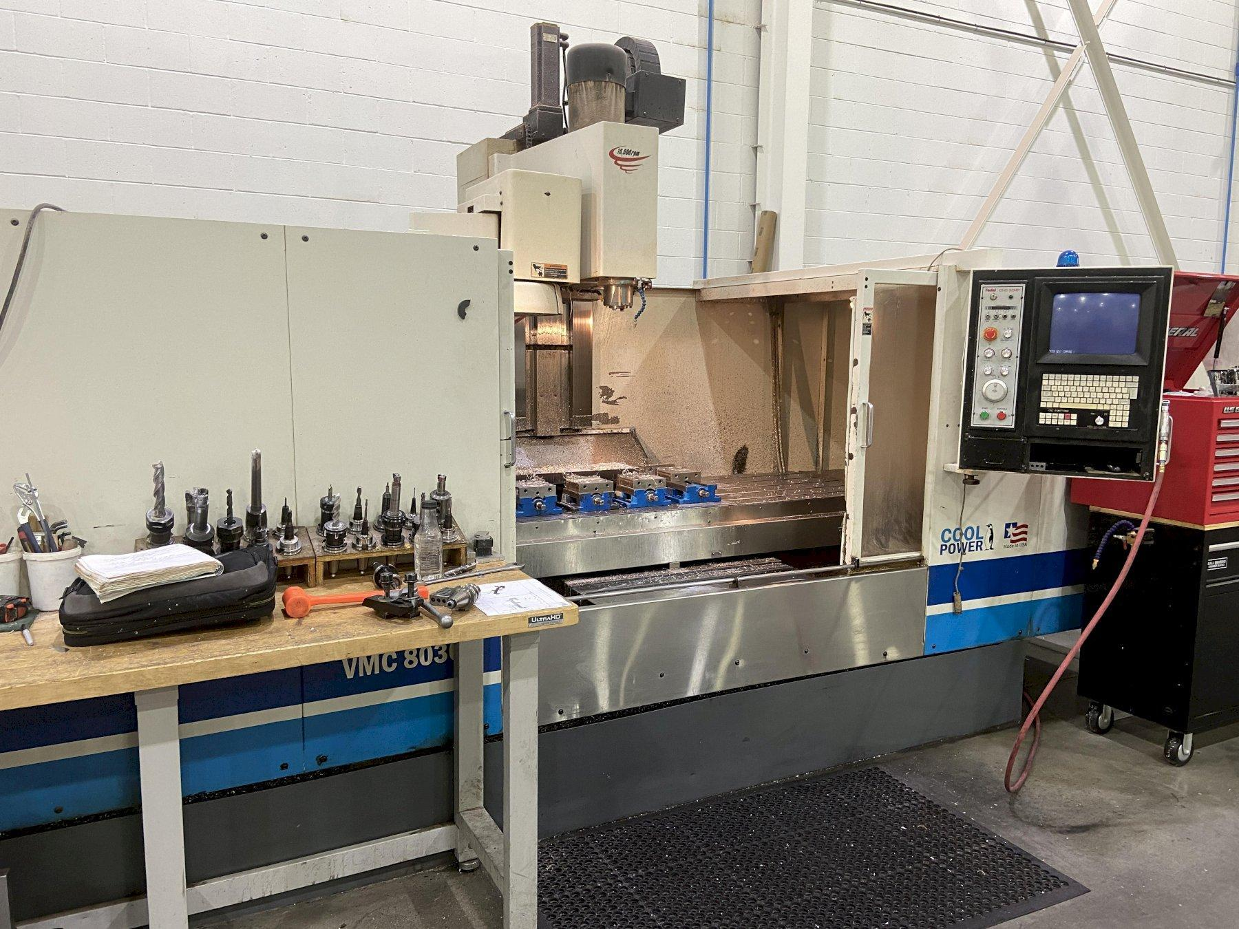 Fadal VMC 8030HT CNC Vertical Machining Center
