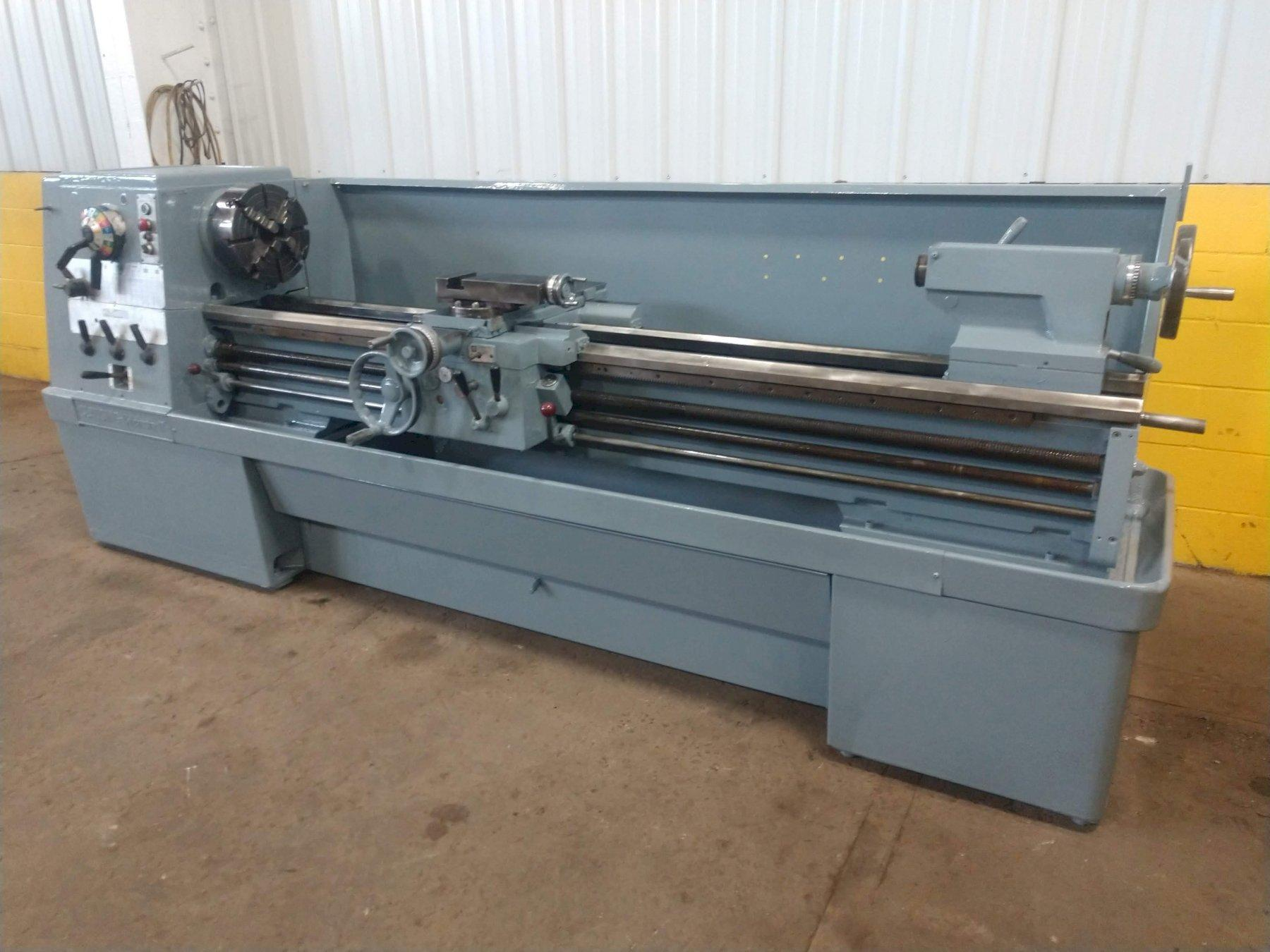 """17"""" X 80"""" CLAUSING MODEL #17 COLCHESTER ENGINE LATHE: STOCK #13532"""