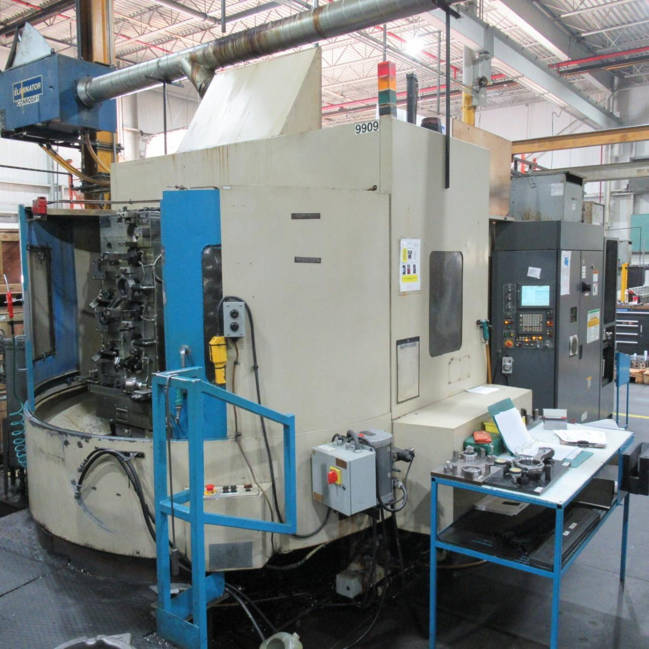 TOYODA FA-630 HORIZONTAL MACHINING CENTER, HIGH PRESSURE THROUGH SPINDLE COOLANT, YEAR 2003 (9911)