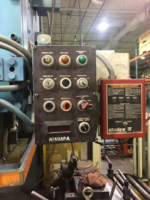 120 Ton Niagara Model E-110-S Gap Frame Press