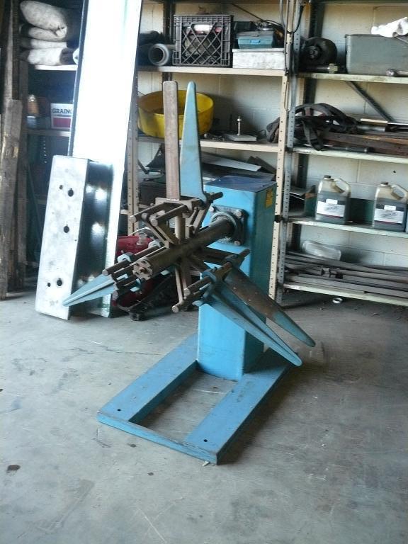 Used 1,800 lb, Durant Unmotorized Coil Reel, Model XL-1816-U