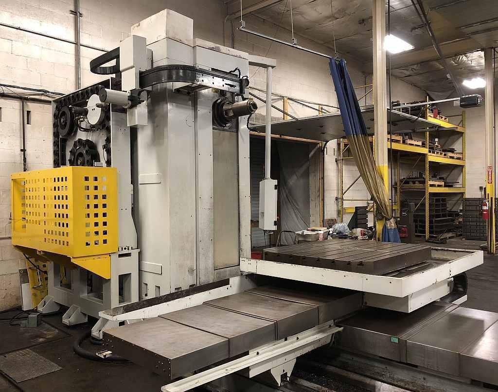 MICROCUT MODEL HBM-4 CNC TABLE TYPE HORIZONTAL BORING MILLING & DRILLING MACHINE
