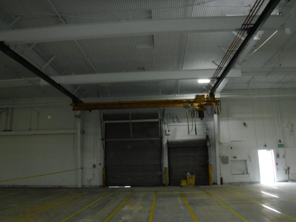 3 Ton x 23' Span Yale Under Running Single Girder Overhead Bridge Crane