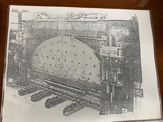 8,000 Ton x 40' Length Baldwin Press Brake