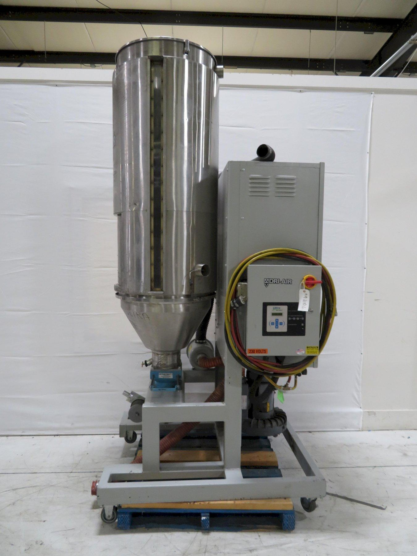 Dri-Air Used APD11 Material Dryer, Desiccant, 200 lb/hr, 230V, Yr. 2015