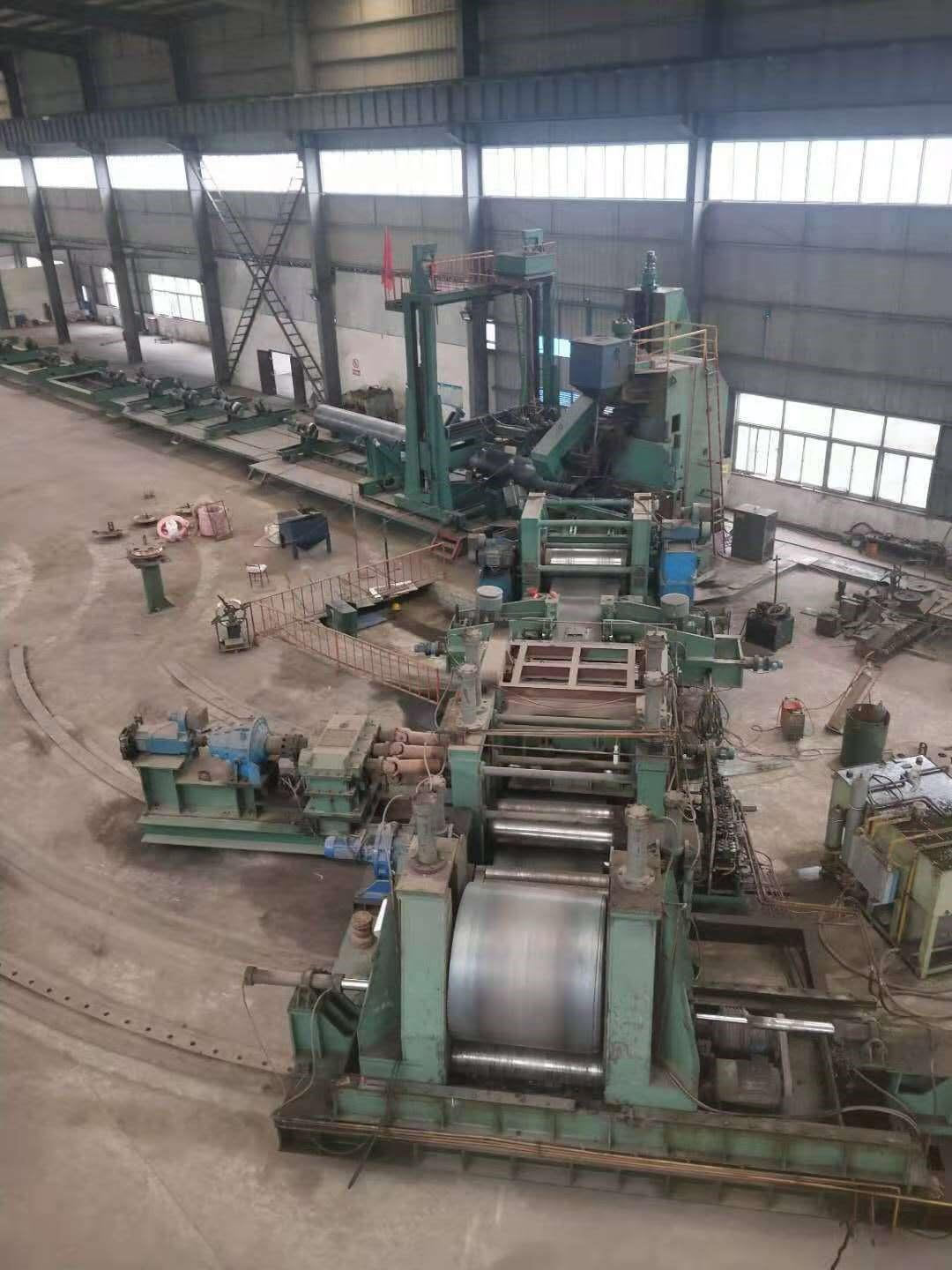 """126"""" (3200mm) x 1"""" (25mm) Spiral Pipe Mill"""