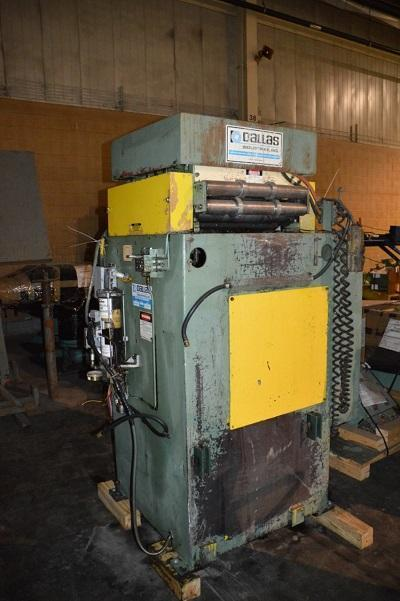 """18"""" DALLAS MDL. DPS-2.5-7-18 7-ROLL STRAIGHTENER   Our stock number: 113329"""