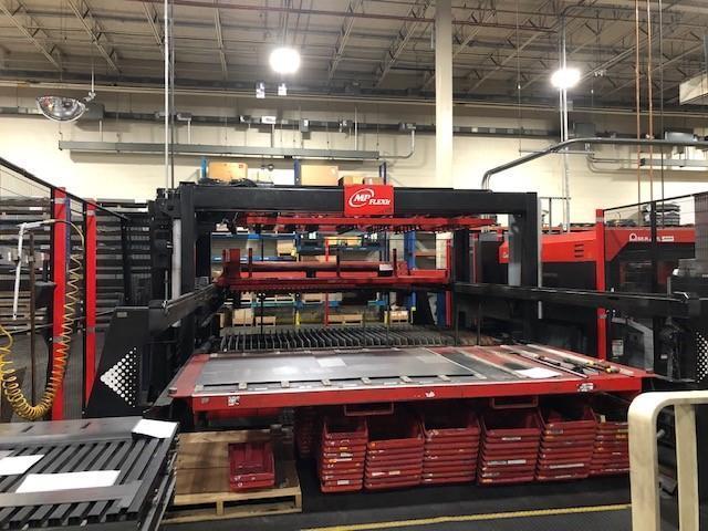 2012 Amada FOM2 3015 NT, 5x10, 4000 Watt Co2 CNC Laser