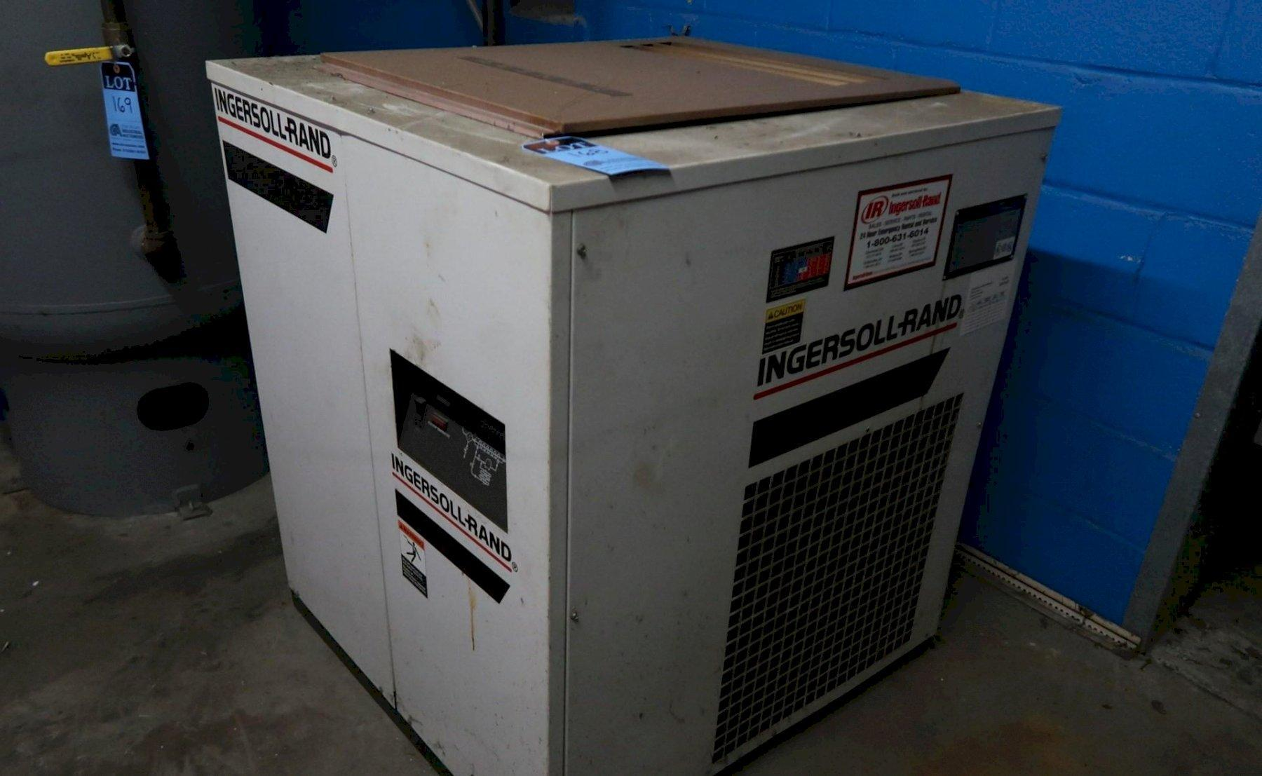 INGERSOL RAND MODEL DXR200 COMPRESSED AIR DRYER, S/N 98KDXR3887, New 10/98.