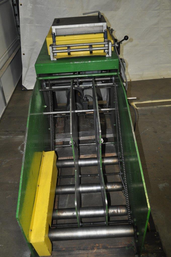"2500 LB x 15"" x .125""Jaco Coil Cradle Straightener"