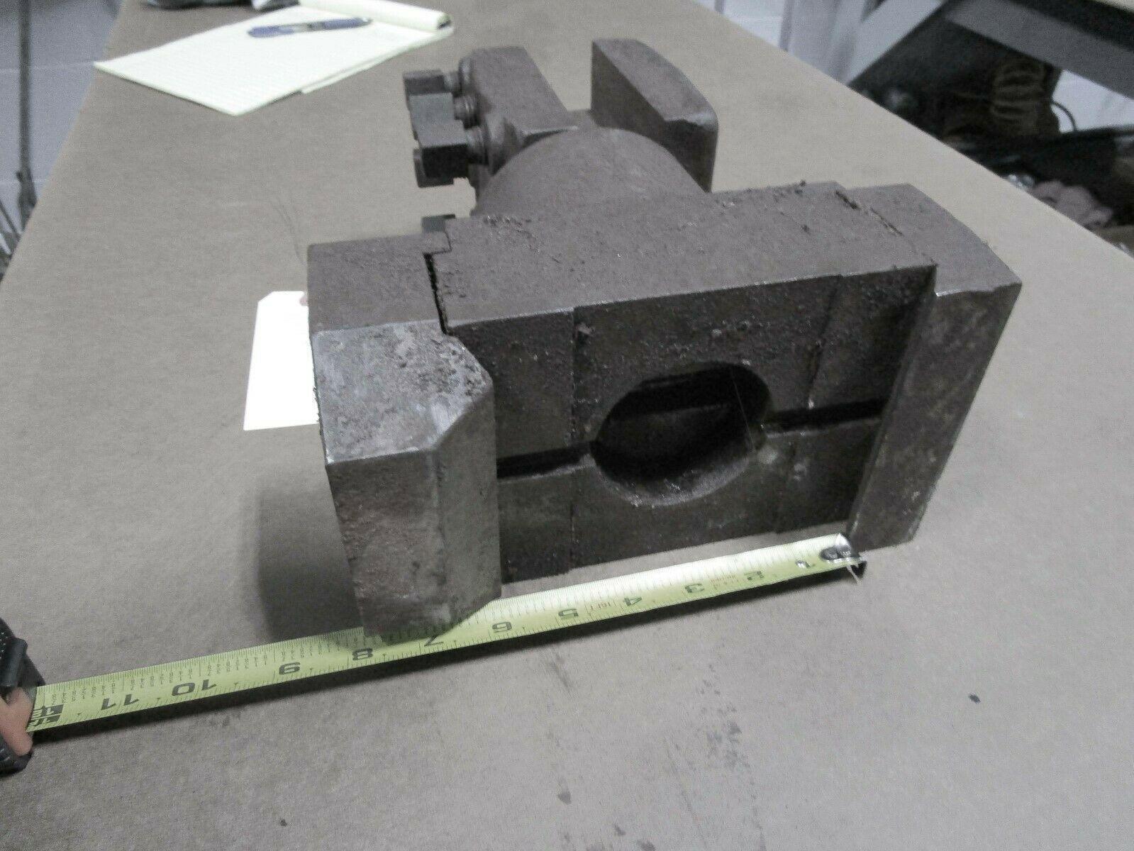 "Bullard Dynautrol Dynautape 6"" Dove Tail Tool Block w/ 3-side slick tool holder"
