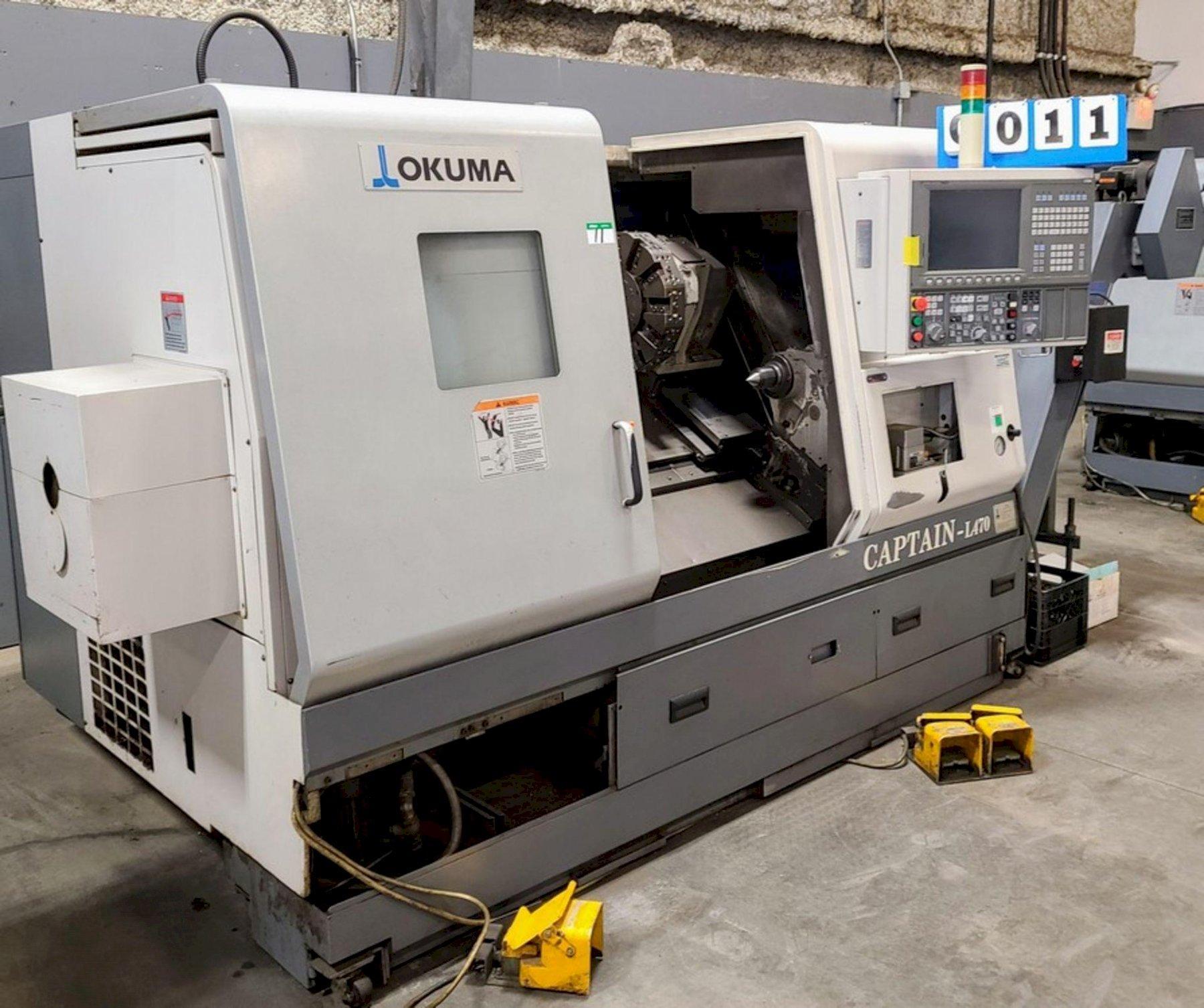 2009 OKUMA CAPTAIN L470  TORNO CNC