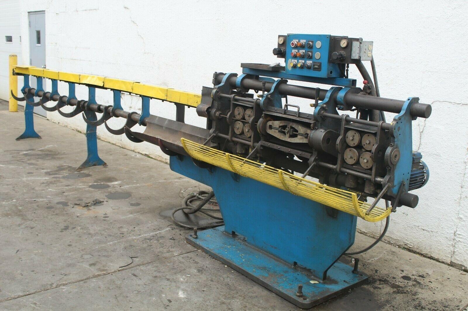 "3/8""  RMG Model 16 Wire Straighten & Cut Machine, W/Factory Clutchless Retrofit 2011"