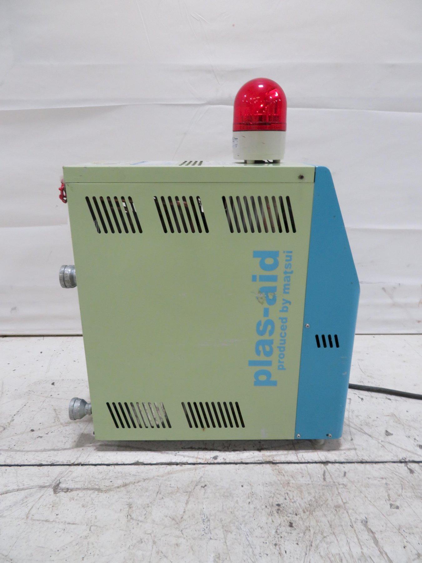 Matsui Used MC-55-U Mold Temperature Controller, 0.8 hp, 5kw, 460V, Yr. 2014