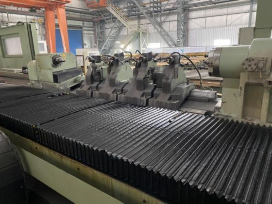 """400mm x 3500mm (15.72"""" x 137"""") TENOVA POMINI CNC ROLL GRINDER, NEW 2015   Our stock number: 114443"""