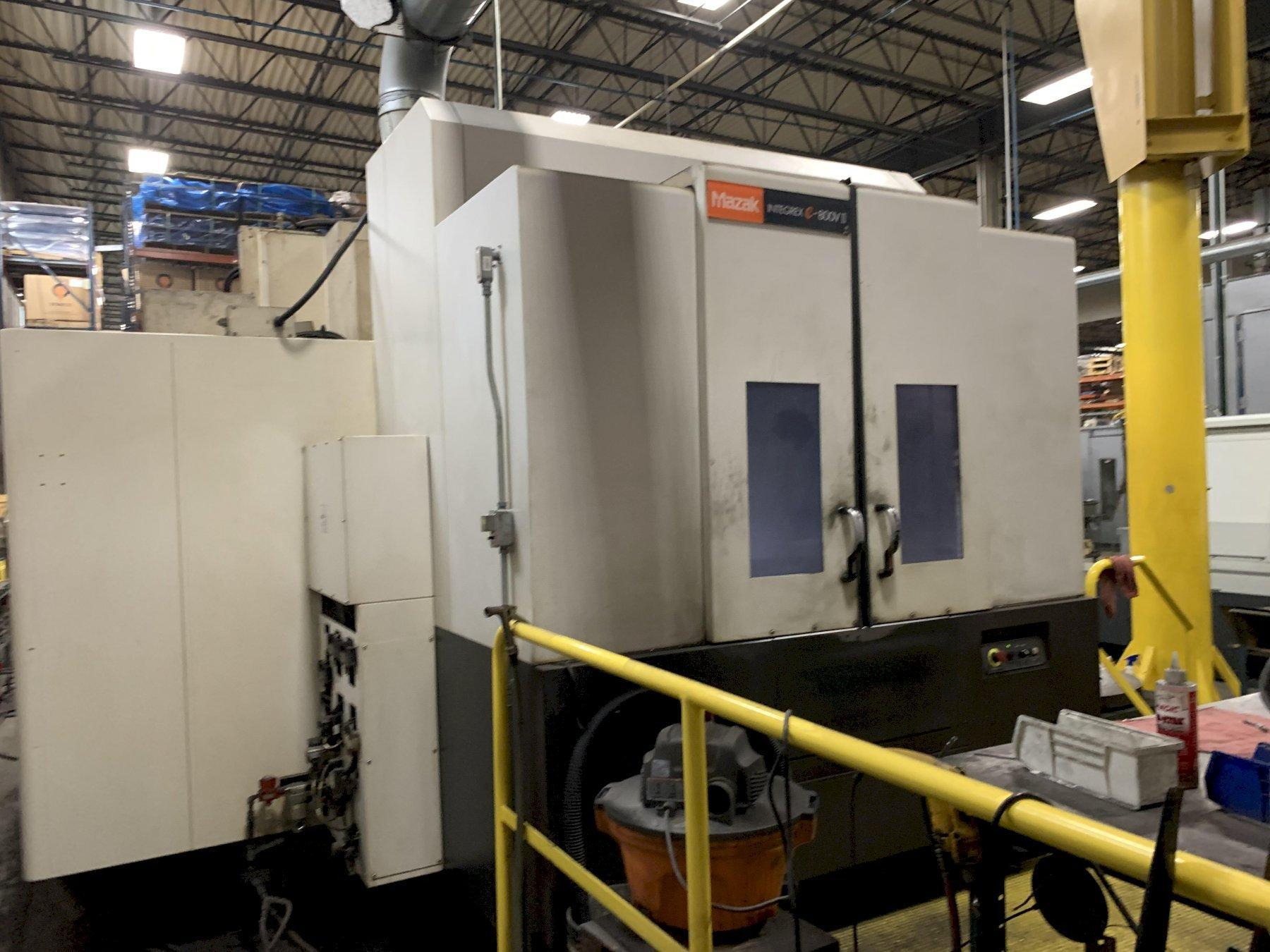 Mazak Integrex e800 V/5 II 5-Axis Turning and 5-Axis Machining Center