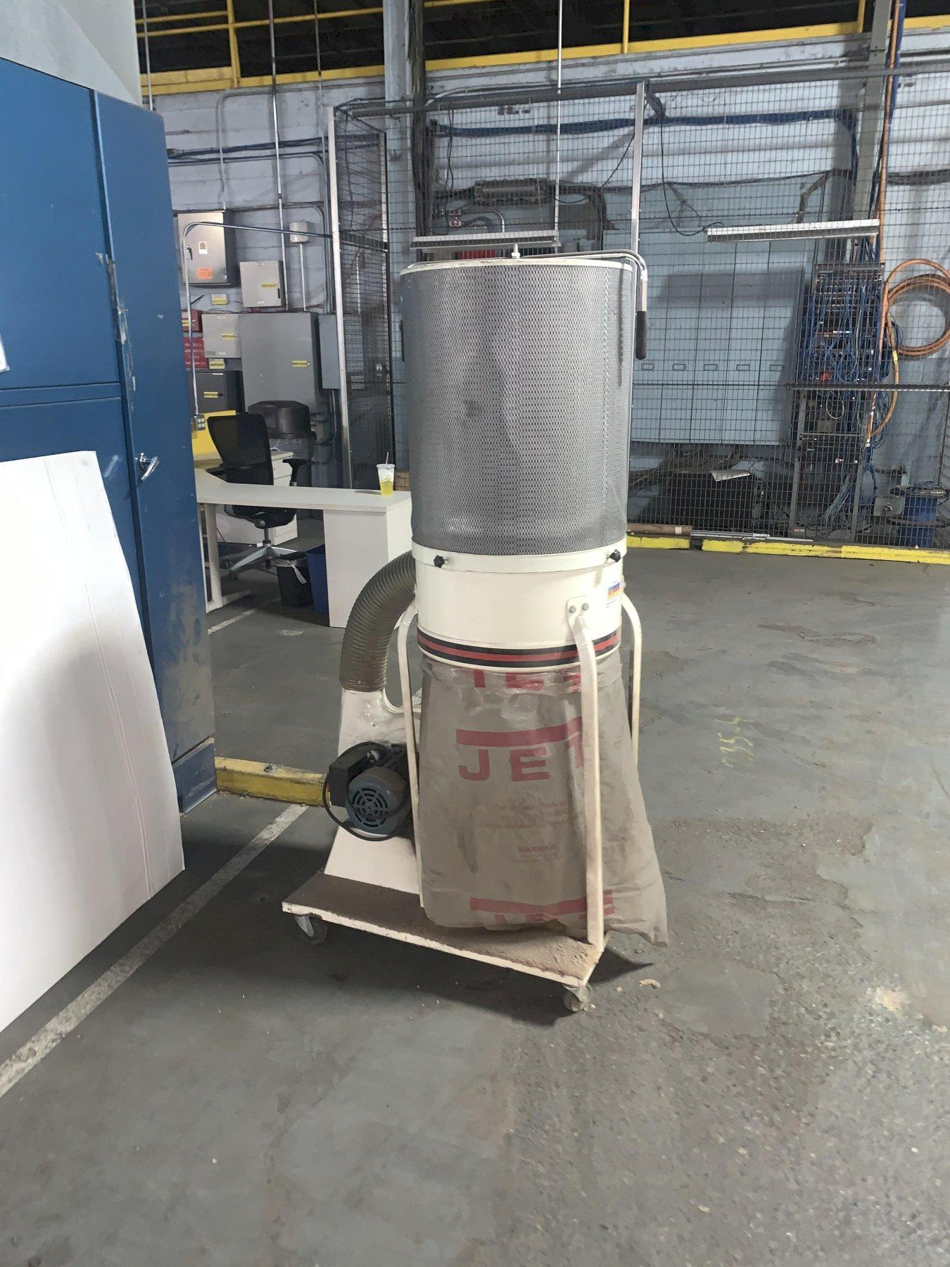 JET MODEL DC-11000 PORTABLE DUST COLLECTOR: STOCK #13019