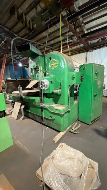 "60"" BLANCHARD ROTARY SURFACE GRINDER, MODEL 32-60, 60"" DIA. MAG CHUCK, 72"" SWING, 30"" VERT, 75 HP SPINDLE MOTOR, 1963"