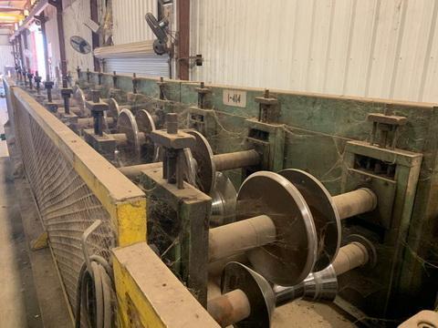 Rake & Gutter Roll Forming Line