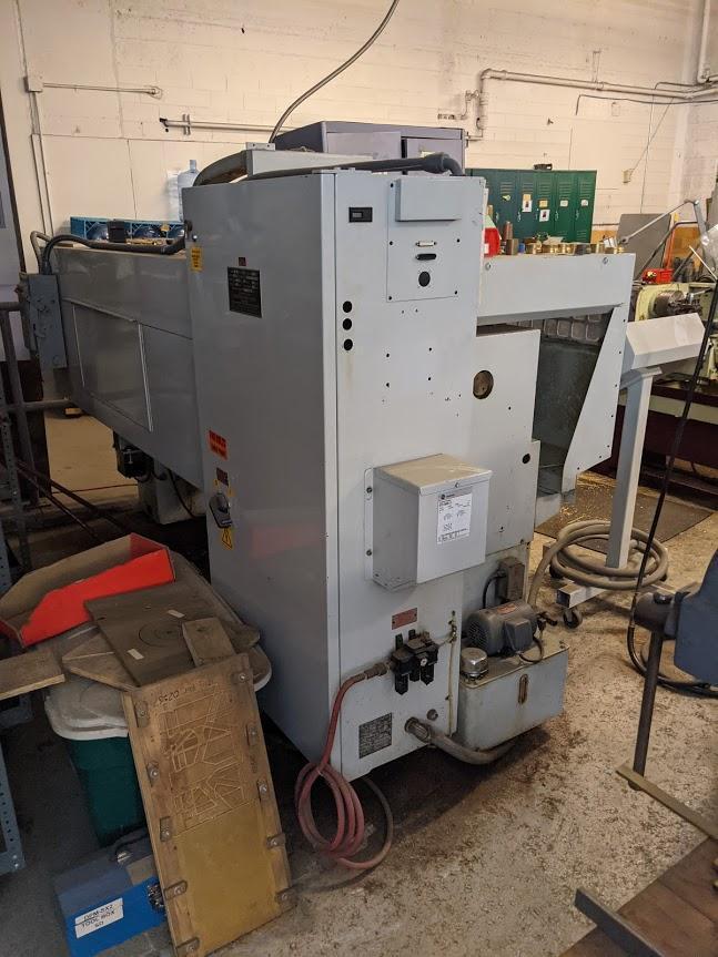 Milltronics ML15 CNC Flat Bed CNC Lathe, S/N 6358, New 2000.