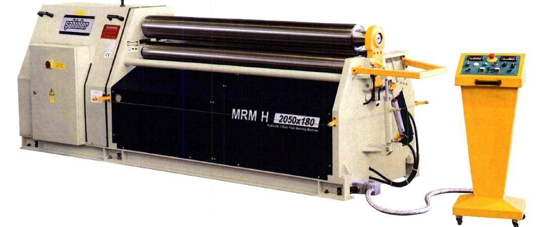 "5/32"" x 5 ft, New Sahinler Hydraulic Plate Bending Roll Model MRM-H 1550-130"