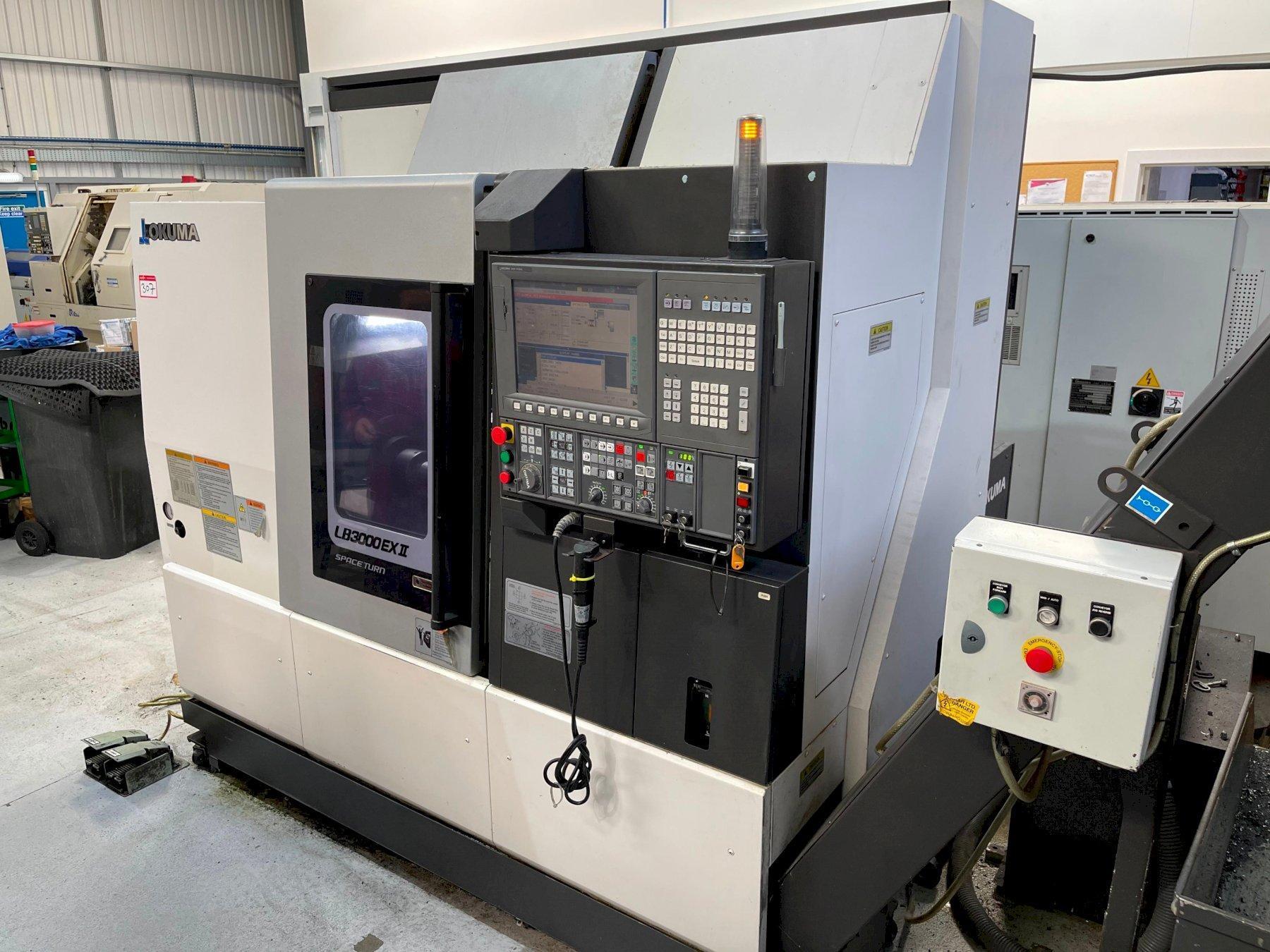 Okuma LB3000 EX II Space-Turn CNC Lathe (2014)