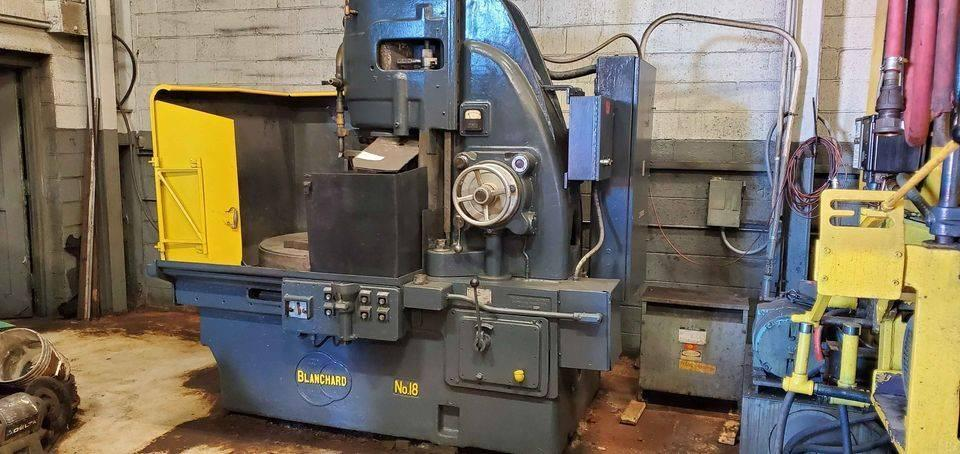 "42"" BLANCHARD 18-42 ROTARY SURFACE GRINDER. STOCK # 0104321"