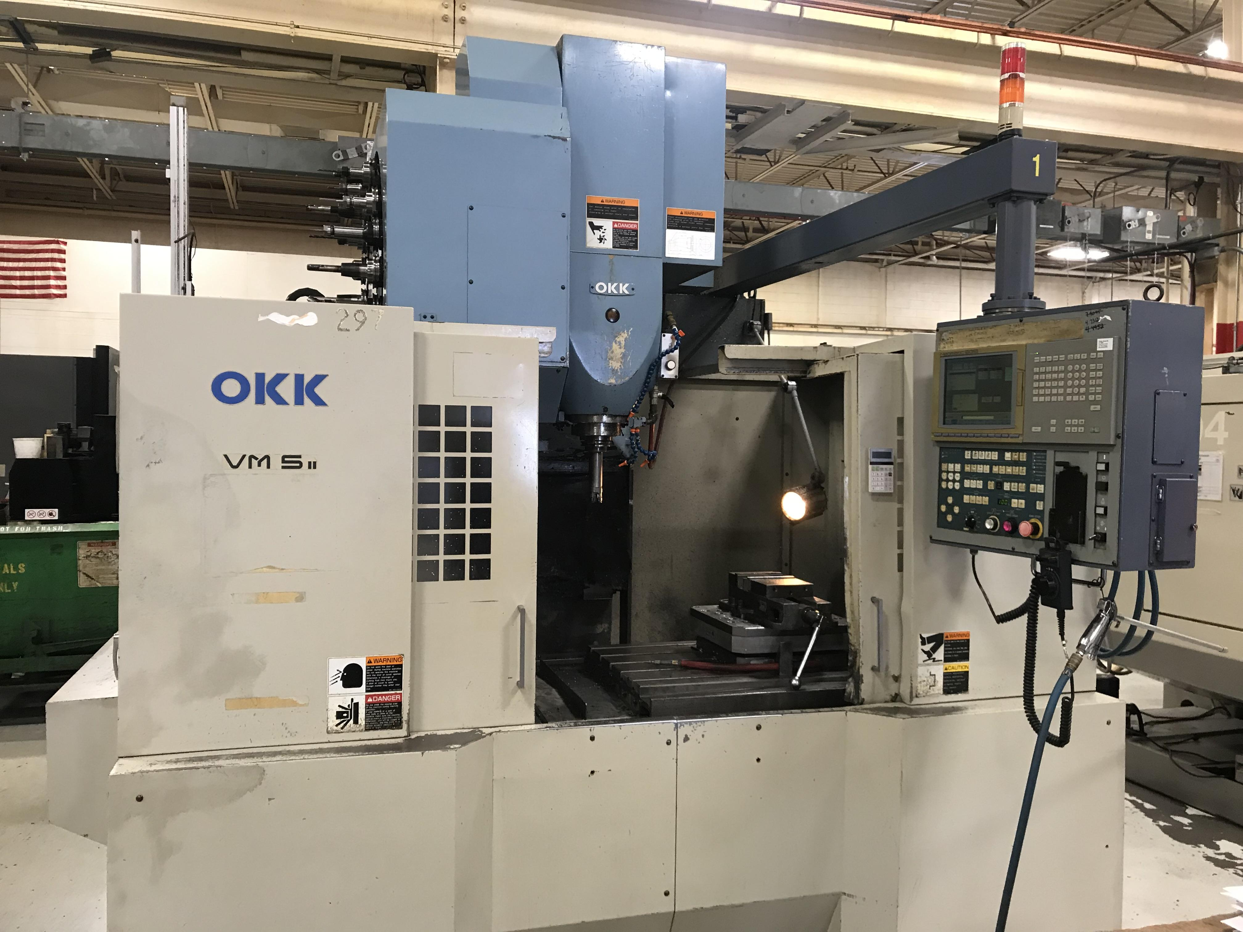 OKK VM5 CNC Vertical Machining Center, Neomatic 635, 40