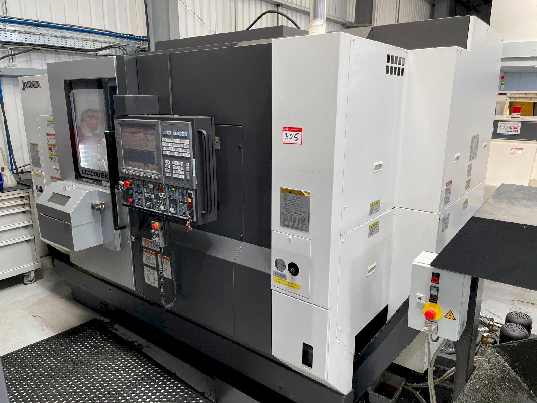Okuma LT2000 Ex Twin Star CNC Twin Spindle Turning Centre (2015)