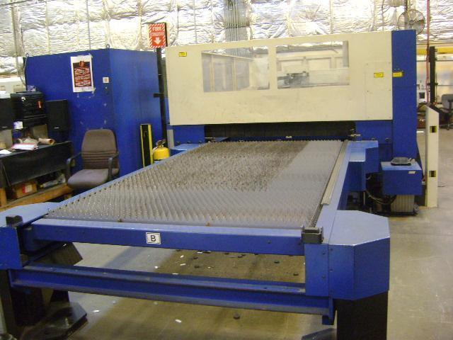 2004 Trumpf L3030, 5x10, 4000 Watt Co2, NEW Resonator in 2019