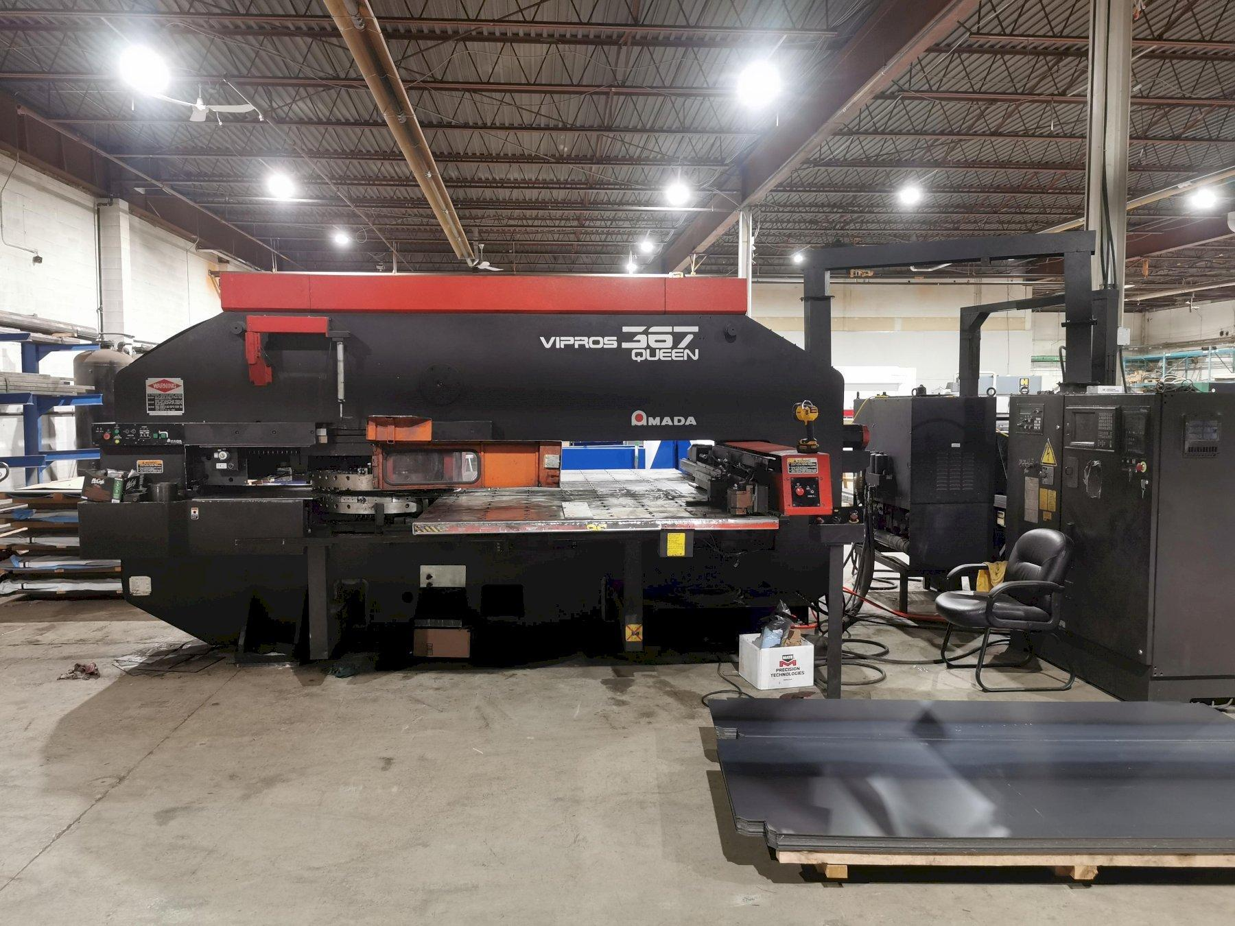 Amada Vipros 367 Queen CNC Turret Punch Press