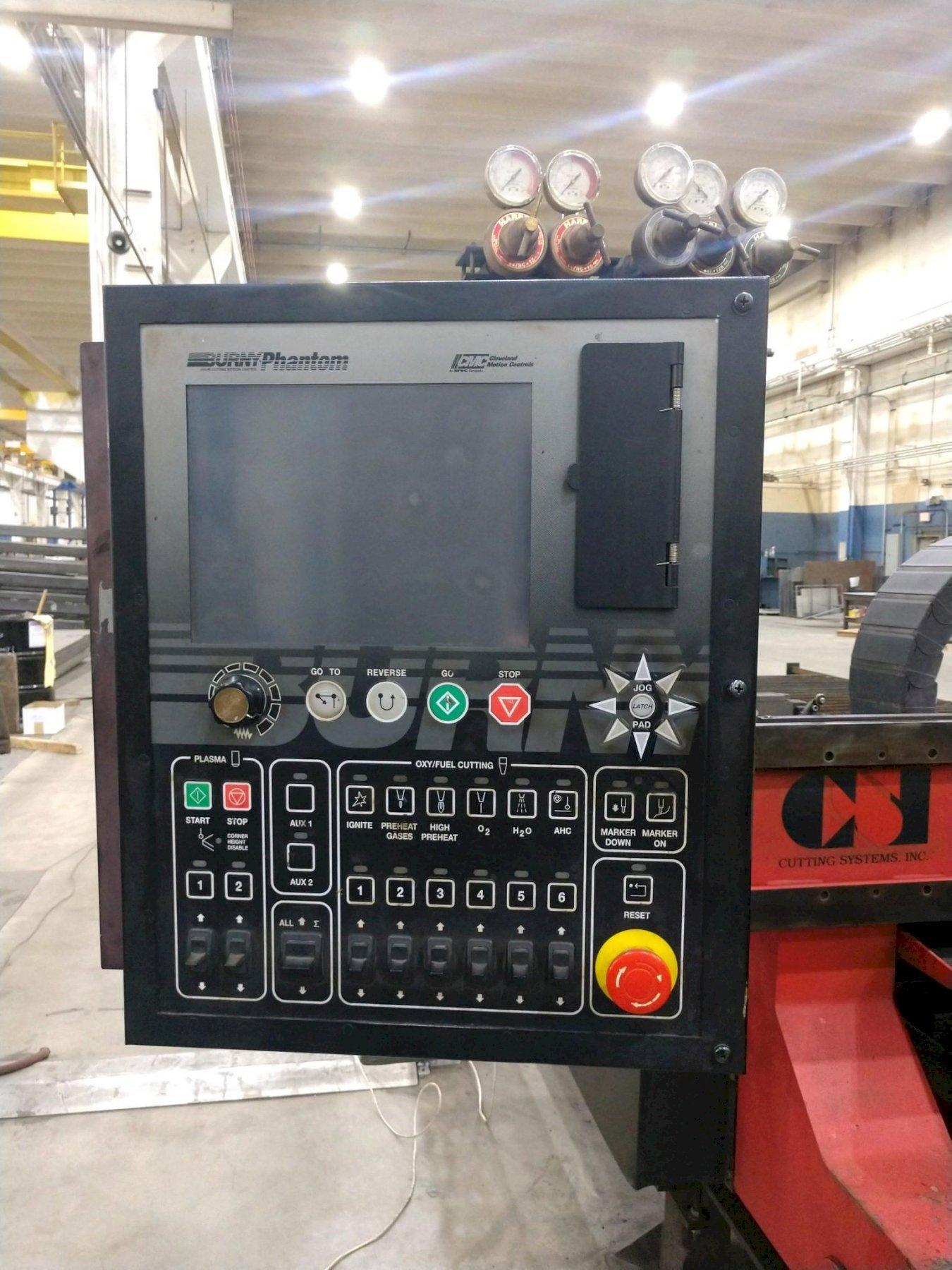 USED CSI KODIAK CNC OXY FUEL CUTTING SYSTEM, Year 2007, Stock #10709
