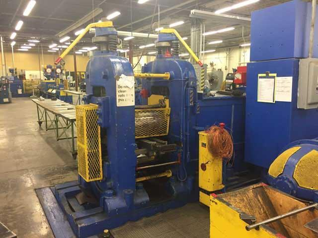 "18"" (457mm) x 20"" (508mm) WATERBURY FARREL 2 HIGH ROLLING MILL (13648)"