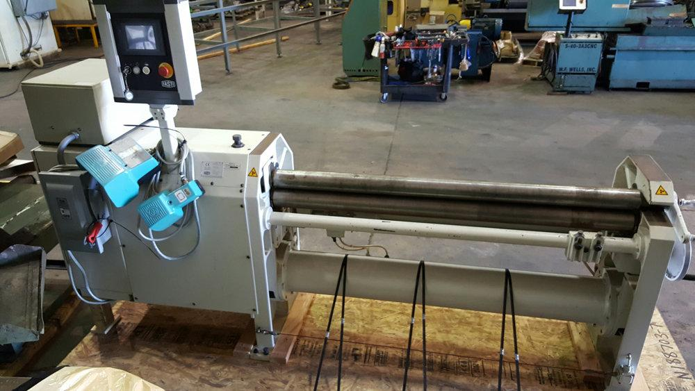"USED FASTI MECHANICAL 3 ROLL CNC SLIP BENDING ROLL, Model 134-15/2, .118"" x 60"", Stock No. 9994"