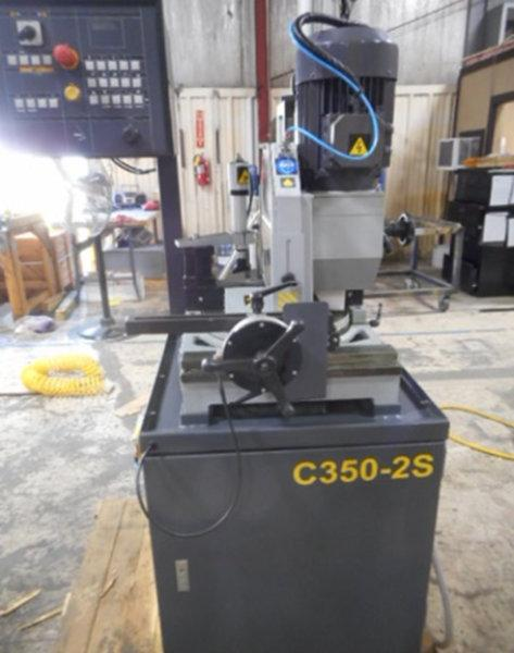 USED HYD-MECH C350-2S HEAVY DUTY SEMI-AUTOMATIC COLD SAW, 2012, Stock No. 10576
