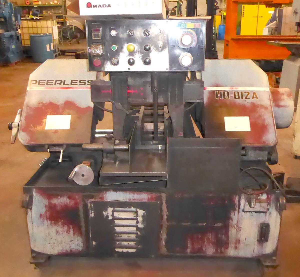 Peerless #HB-812A Automatic Horizontal Band Saw