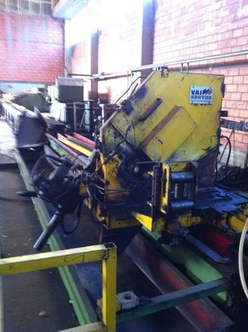 """3.5"""" (88.9mm) x 4.0mm Voest Alpine High Speed Mill with Mair Packaging Line"""