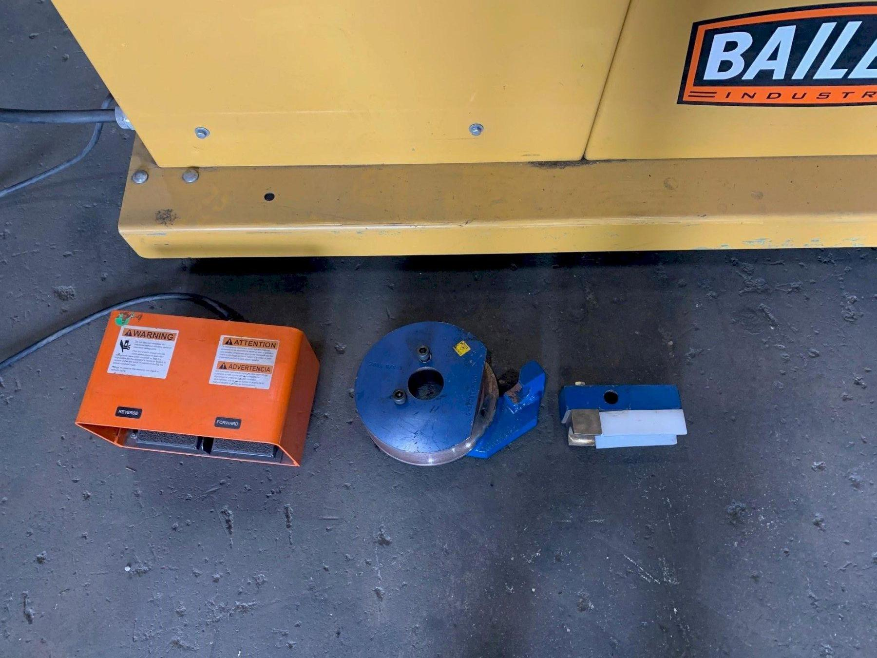 """USED BAILEIGH MODEL RBD-350TS 3"""" PROGRAMMABLE HYDRAULIC TUBE BENDER, Stock# 10849, Year: 2008"""