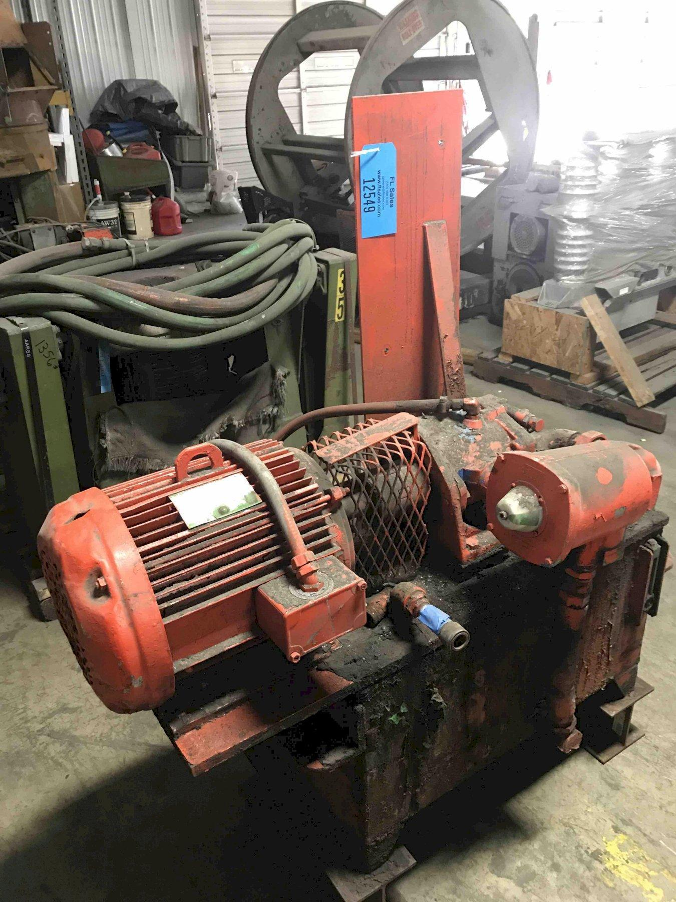 Hydraulic power unit  20 HP 230/460 volts