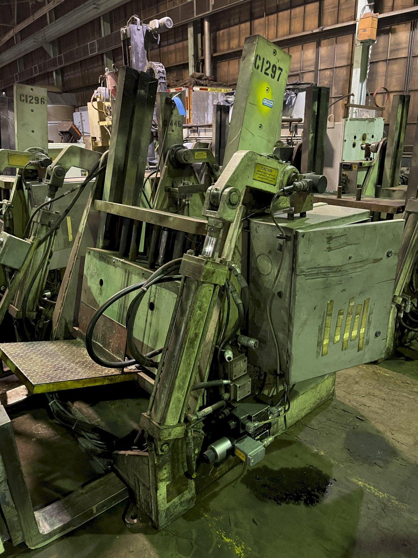 """Hall model RT3 permenant molding machine with controls s/n 6314, 33"""" x 20"""" platen"""