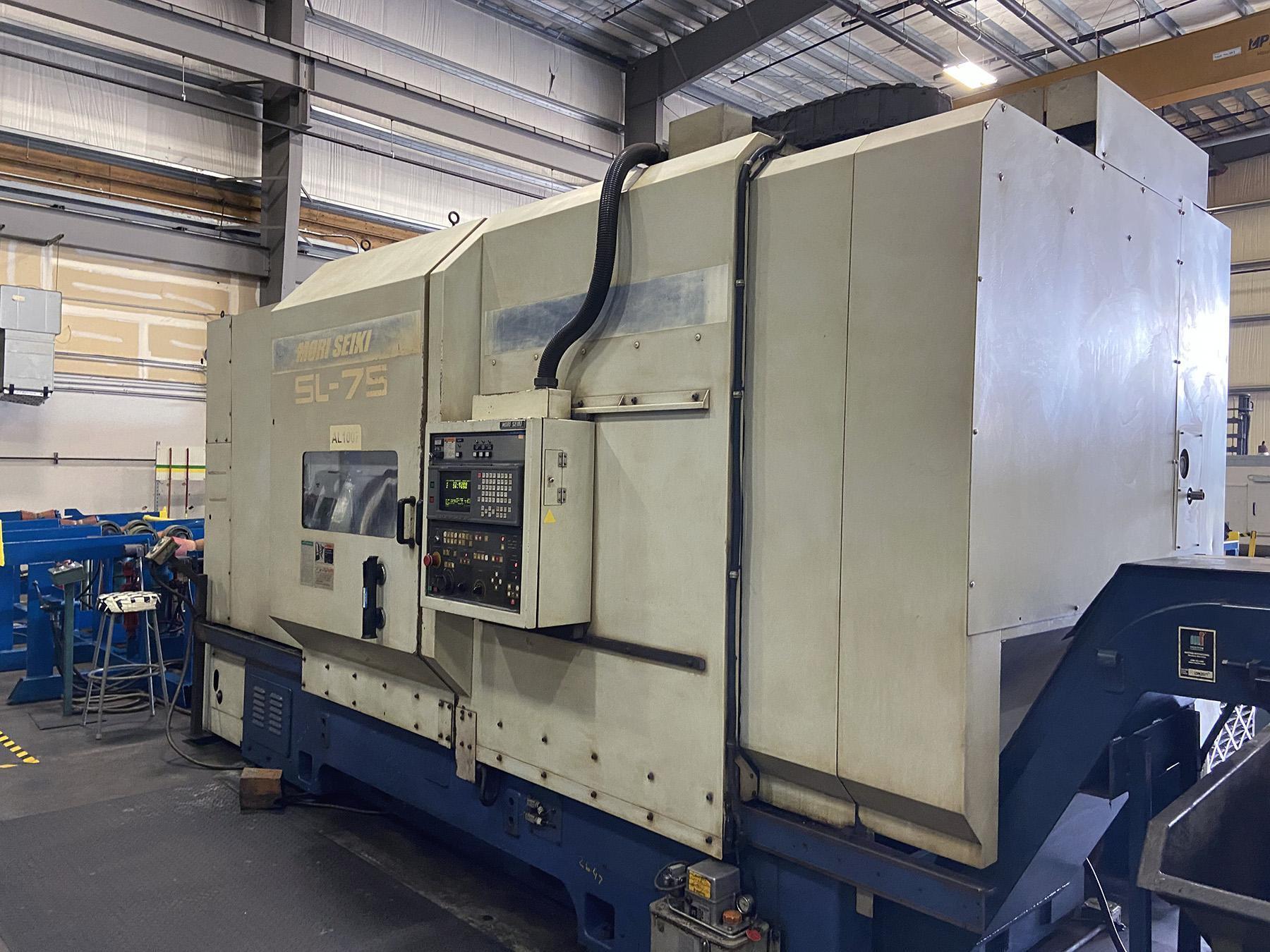 USED, Mori Seiki SL-75C CNC Lathe